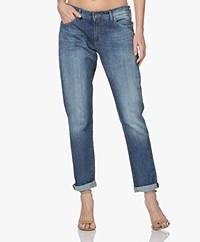 Denham Monroe Girlfriend Fit Jeans - Blauw
