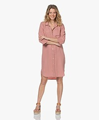 by-bar Zoe Nakai Tencel Shirt Dress - Ash Rose