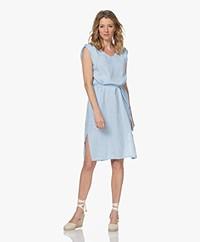 Josephine & Co Leo Sleeveless Linen Dress - Light Blue