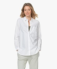 indi & cold Cotton Poplin Shirt - White