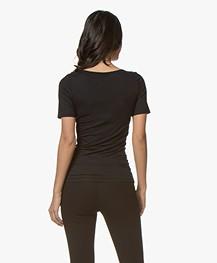 Hanro Soft Touch Modal T-shirt - Black