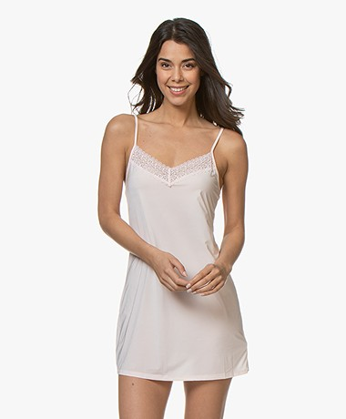 Calvin Klein Flirty Chemise with Lace - Nymph's Thigh