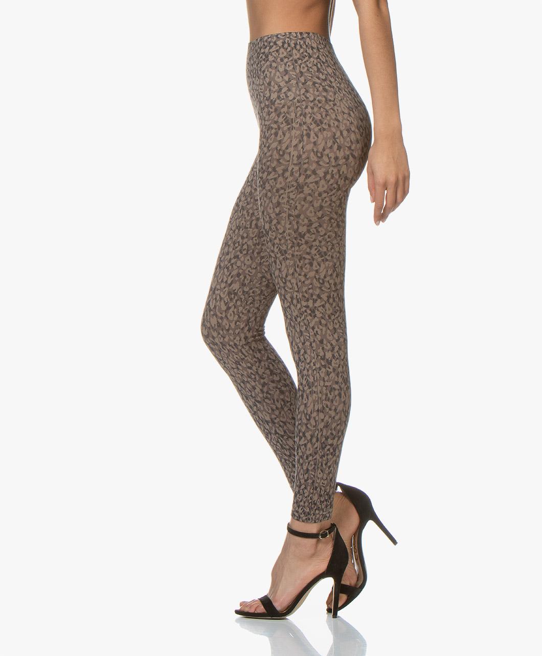 addcdf917c916a SPANX® Look At Me Now Leggings - Mini Leopard - Spanx Shapewear