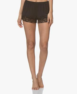 Calvin Klein CK Black Jersey Slaap Short - Zwart
