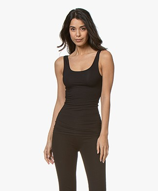 HANRO Soft Touch Modal Tank Top - Black
