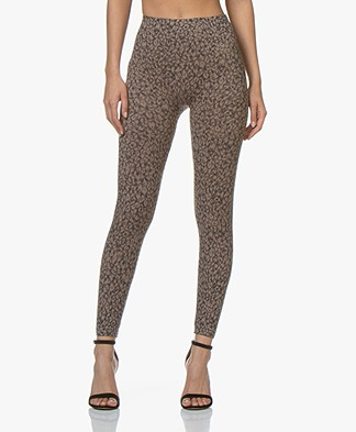 SPANX® Look At Me Now Leggings - Mini Leopard
