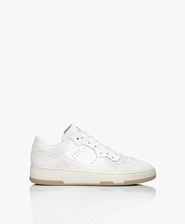 Copenhagen Studios Mid-top Suede Leather Sneakers - Off-white
