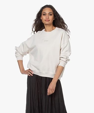 IRO Siryla Oversized Logo Sweatshirt - Off-white