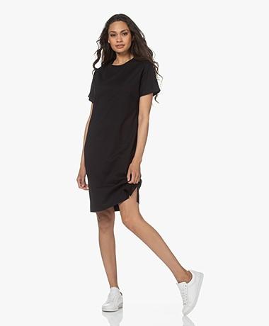 Filippa K Effie Katoenen T-shirtjurk - Zwart