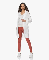 Josephine & Co Lili Tencel Blend Open Cardigan - Off-white