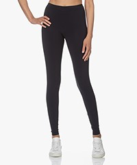 Woman By Earn Whitney Tech Jersey Legging - Navy