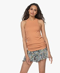 By Malene Birger Amiee Tank Top - Toasted Nut
