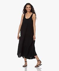Denham Veronica Muslin Maxi Dress - Black