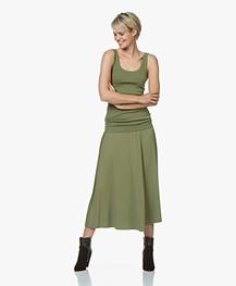 By Malene Birger Idina Jersey Circle Skirt - Olivine