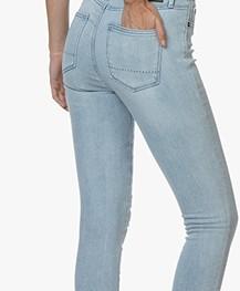 Denham Needle High Skinny Jeans - Blue