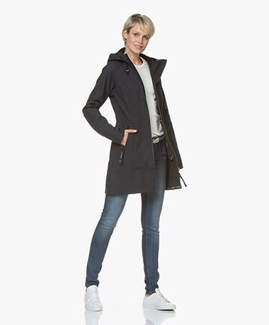 Ilse Jacobsen Softshell Raincoat Rain37 - Indigo