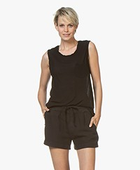 James Perse Muscle Tank - Black