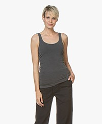 James Perse Long Tank Top - Carbon