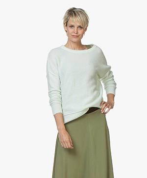 By Malene Birger Biagio Alpaca Blend Sweater - Celadon