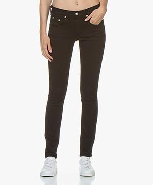 Rag & Bone Classic Skinny Jeans - Zwart