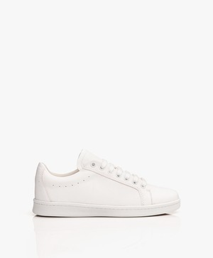 Filippa K Alice Leren Sneakers - Wit