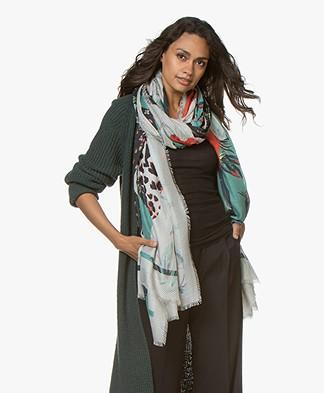 Zadig & Voltaire Maxy Patchwork Sjaal - Multicolor
