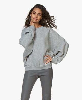 American Vintage Kinouba Sweatshirt - Grey Melange