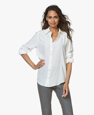 Joseph Klein Pure Silk Shirt - Off-white
