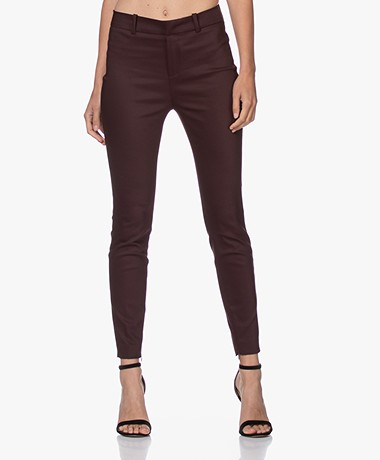Drykorn Winch Stretchy Slim-Fit Pants - Off - Eggplant
