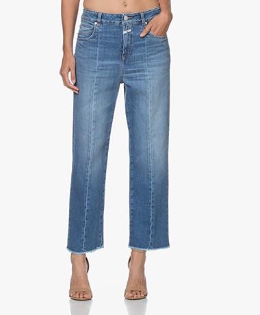 Closed Gill Rechte Jeans van Biologisch Katoen - Mid Blue