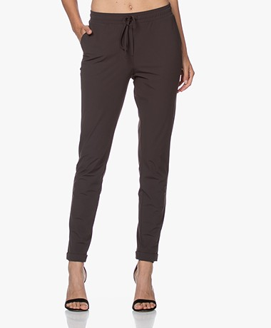 Josephine & Co Ray Travel Jersey Broek - Bruin
