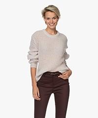 Filippa K Helen Mohair Blend Sweater - Ivory