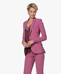 JapanTKY Dannot Travel Jersey Blazer - Violet