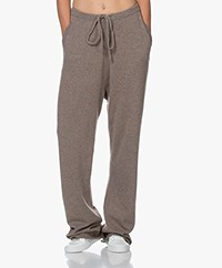 extreme cashmere N°142 Run Cashmere Blend Pants - Tree