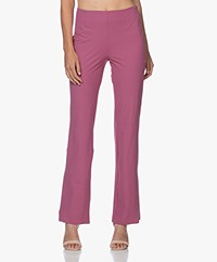 JapanTKY Aze Travel Jersey Flared Pants - Violet