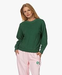 American Vintage Lapow Polar Fleece Sweatshirt - Forest