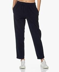 Pomandère Loose-fit Baby Corduroy Pants - Blue Navy