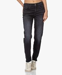 Drykorn Like Girlfriend Stretch Jeans - Dark Grey