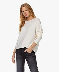 Drykorn Maila Virgin Wool Sweater - Ecru