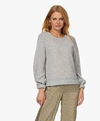American Vintage Razpark Wool Blend Sweater - Polar Melange