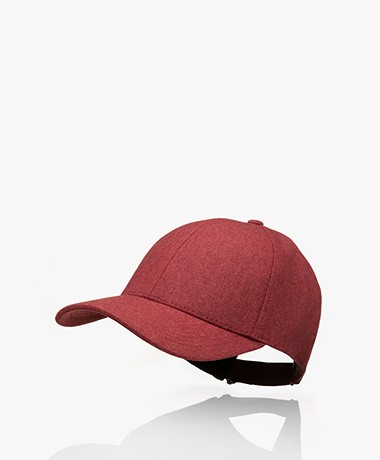 Varsity Headwear Scheerwollen Pet - Maroon Red