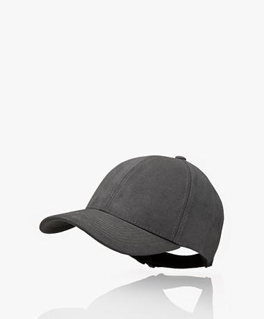 Varsity Headwear Alcantara Faux Suede Cap -  Anthracite Grey