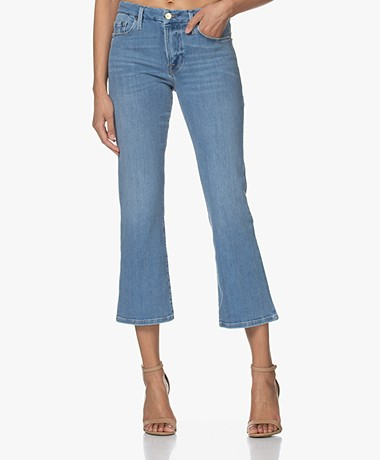 FRAME Le Cropped Mini Boot Stretch Jeans - Melville