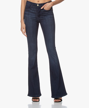 FRAME Le High Flare Stretch Jeans - Verona
