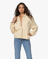 Closed Organic Cotton French Terry Jacket - Cashew Nut