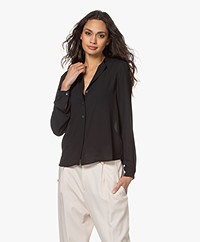 Filippa K Adele Blouse - Black