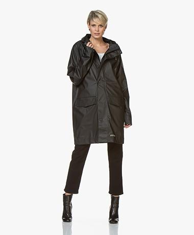 Stutterheim Ekeby Lightweight Raincoat - Black