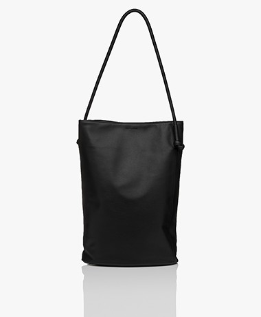Monk & Anna Naomi Large Vegan Shopper - Black