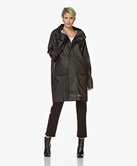 Stutterheim Ekeby Lightweight Raincoat - Black