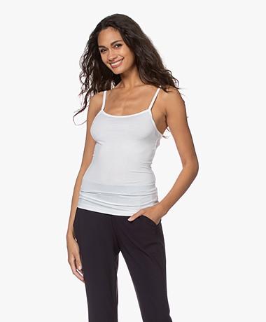 Organic Basics Tencel Jersey Singlet - White